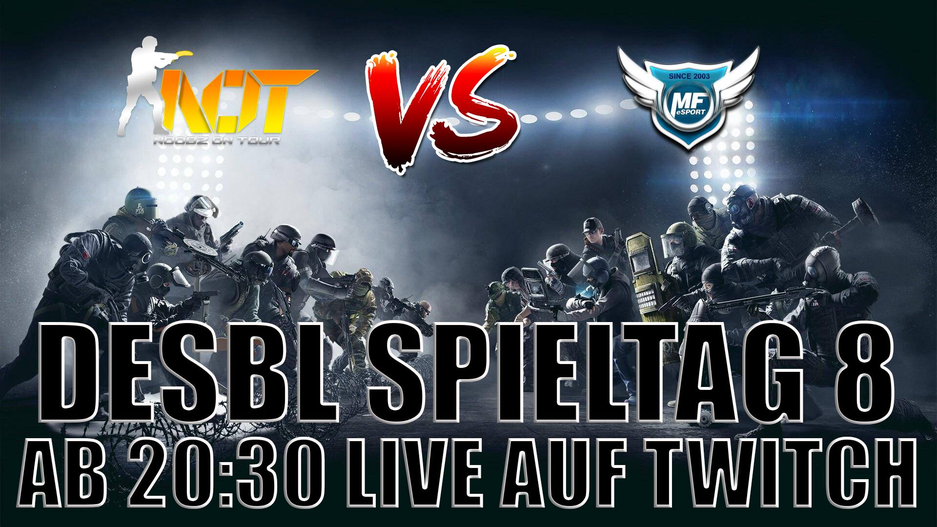 Warbericht: Xbox One – DeSBL 8. Spieltag – NoobZ on Tour – NoT vs. Makersfield – MF